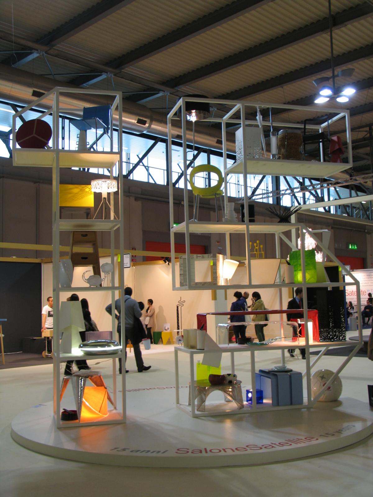 4 salone del mobile salone satellite prima parte for Salone satellite
